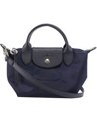 Longchamp Le Pliage Néo Extra Small Top Handle Bag - Blue