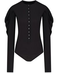 Low Classic - Puff-sleeve Bodysuit - Lyst