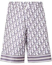 Dior Dior Oblique Shorts - Multicolor