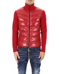 Moncler - Padded Cardigan - Lyst