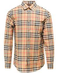 Burberry Check Pattern Shirt - Multicolour