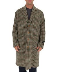 Gucci Houndstooth Overcoat - Multicolour