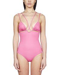 Jacquemus Le Maillot Pila Swimsuit - Pink
