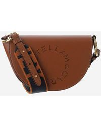 Stella McCartney Marlee Mini Shoulder Bag - Brown