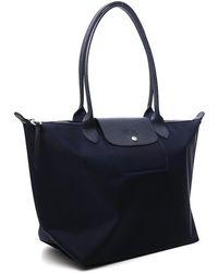Longchamp Le Pliage Néo Large Shoulder Bag - Blue