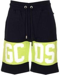 Gcds Logo Band Track Shorts - Black