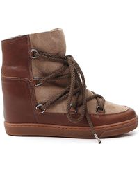 Isabel Marant Nowles Boots - Brown