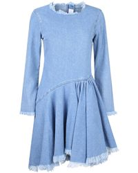 7 For All Mankind Cotton Dress - Blue