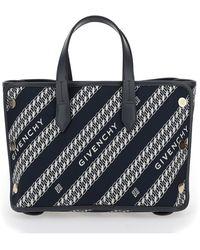 Givenchy Mini Bond Shopper Bag - Blue