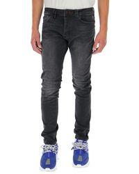 Philipp Plein Mid-rise Straight Jeans - Gray