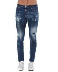DSquared² Distressed Jeans - Blue