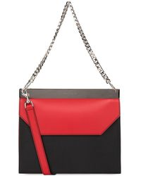 Alexander McQueen - Two Tone Drop Chain Shoulder Bag - Lyst