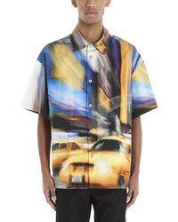 Heron Preston - Taxi Print Short-sleeve Shirt - Lyst