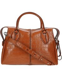 Tod's D-styling Medium Tote Bag - Brown