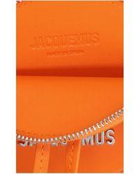 Jacquemus Le Pitchou Round Coin Purse - Orange