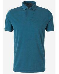 Loro Piana Basic Polo Shirt - Blue