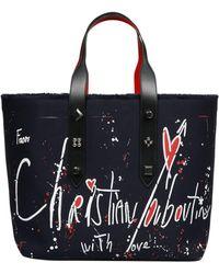 Christian Louboutin Frangibus Tote Bag - Blue