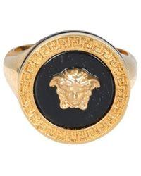 Versace Medusa Ring - Metallic