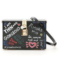 Dolce & Gabbana - Mural Print Box Clutch Bag - Lyst