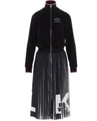Karl Lagerfeld Logo Dress - Black