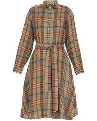 Polo Ralph Lauren Ralph Lauren Tie-waist Plaid Shirt Dress - Multicolour