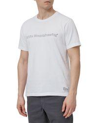 White Mountaineering Logo Print T-shirt - White