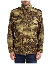 Givenchy Men's Outerwear Jacket Blouson - Multicolour