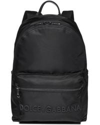 Dolce & Gabbana Classic Top Handle Backpack - Black