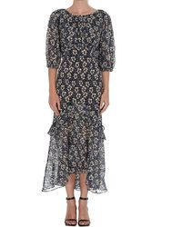 RIXO London Cheryl Asymmetric Dress - Multicolour