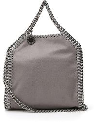 Stella McCartney Falabella Tiny Tote Bag - Gray