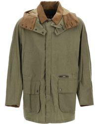 Barbour Beaufort Lightweight Hooded Jacket - Green