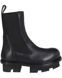 Rick Owens - Rick Ownes Beatle Megatooth Boots - Lyst