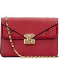 Fendi Bag Bugs Crossbody Bag - Red