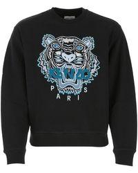 KENZO Tiger Sweatshirt - Black