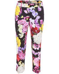 Dolce & Gabbana Floral Capri Pants - Pink