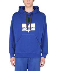 Isabel Marant - Miley Sweatshirt With Logo - Lyst
