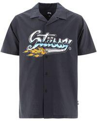 "Stussy ""cruising"" Shirt - Blue"