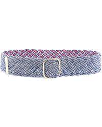 Philosophy Di Lorenzo Serafini Braided Belt - Blue