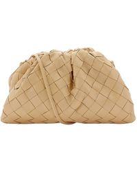 Bottega Veneta The Mini Pouch Bag - Natural