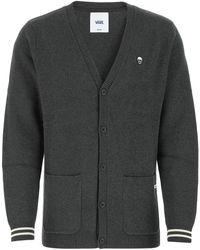 Vans Charcoal Cotton Cardigan Nd Uomo - Grey