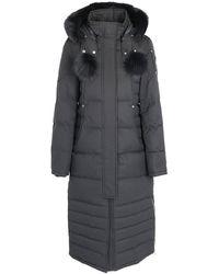 Moose Knuckles Saskatchewan Fur Trimmed Hooded Parka - Grey