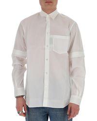 Stella McCartney Detachable Sleeve Shirt - White