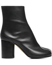 Maison Margiela Tabi Ankle Boots - Black