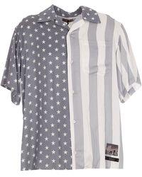Buscemi Stars And Stripes Print Shirt - Multicolour