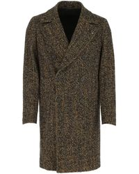 Tagliatore Arden Double-breasted Tailored Coat - Brown