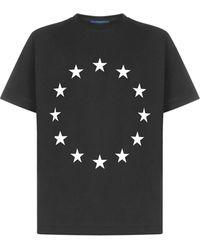Etudes Studio Wonder Europa Star Print T-shirt - Black