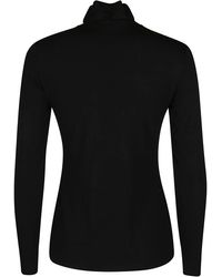 The Row Dembe High-neck Jumper - Black