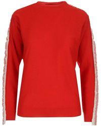 Stella McCartney Logo Side Band Sweatshirt - Red