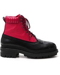 DSquared² Tank Trek Ankle Boots - Multicolour