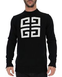 Givenchy 4g Knit Pullover - Black